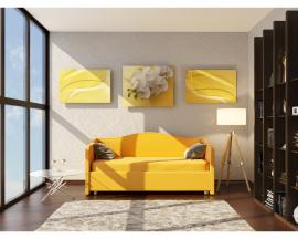 Односпальная мягкая кровать Elea Style - ничего лишнего!