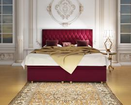 Упрощенный, но в тоже время сдержанный и стильный, вариант кровати Bianco Promo в односпальном варианте.