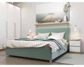 Лаконичная и сдержанная интерьерная кровать Bianco Style.